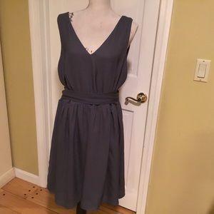 JunaRose beautiful slate gray dress
